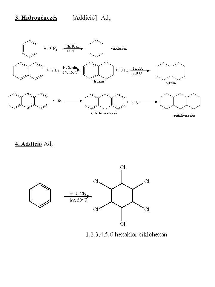 3. Hidrogénezés [Addició] Ade